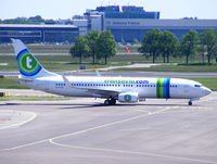 PH-HSB @ EHAM - Transavia Airlines - by Chris Hall