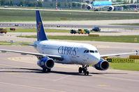 5B-DBO @ EHAM - Cyprus Airways - by Chris Hall