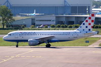 9A-CTG @ EHAM - Croatia Airlines - by Chris Hall