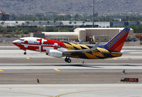 N214WN @ KPHX - Southwest's Maryland One departing PHX. - by T.P. McManus
