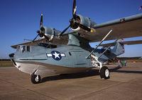 N9521C @ MIV - PBY Catalina on display at KMIV - by T.P. McManus