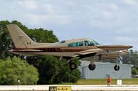 XB-LKA @ KLAL - Cessna T.310R [310R-1599] Lakeland~N 16/04/2010