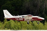 TG-SBO @ KLAL - Piper PA-34-200T Seneca II [34-8070305] Lakeland-Linder~N 16/04/2010