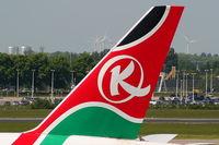 5Y-KQZ @ EHAM - Kenya Airways - by Chris Hall