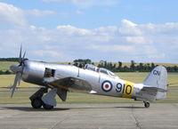 N20MD @ EGSU - Flying Legends Air Show 2010 Duxford - by Henk Geerlings