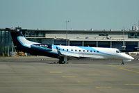 M-OLEG @ EHAM - Hermitage Air,  Embraer ERJ-135BJ Legacy 600 - by Chris Hall