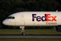 N901FD @ ORF - FedEx Tucker N901FD (FLT FDX307) slowing down on RWY 5 after arrival from Memphis Int'l (KMEM). - by Dean Heald