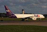 N901FD @ ORF - FedEx Tucker N901FD on taxiway Charlie headed to the cargo terminal after arrival from Memphis Int'l (KMEM) as FDX307. - by Dean Heald