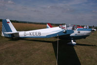 D-KEEB @ EGMA - Visiting for Flying Legends - by N-A-S