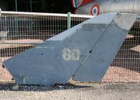 60 - Only last piece of a Dassault Etendard IVM preserved inside Savigny-les-Beaune Museum - by Shunn311