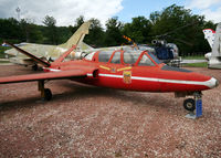 MT-33 - S/n 290 - Belgium Air Force Fouga Magister preserved inside Savigny-les-Beaune Museum... - by Shunn311