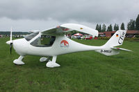 D-MELV @ ESVS - Small aircraft from Germany - by Hans Spritt