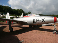 A-057 - Denmark Air Force F-84G preserved inside Savigny-les-Beaune Museum... - by Shunn311
