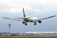B-16705 @ EGLL - Eva Air - by Martin Nimmervoll