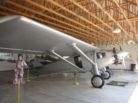 N211 @ WS17 - Spirit of St Louis Replica at Pioneer Airport EAA Oshkosh WI USA. It does fly now and then - by steveowen