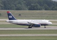 N804AW @ DTW - US Airways A319