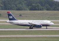 N804AW @ DTW - US Airways A319