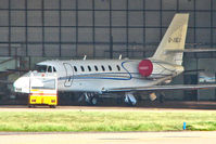 G-XBLU @ EGNX - 2007 Cessna CESSNA 680, c/n: 680-0143 at East Midlands