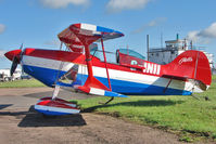 G-INII @ EGBG - Pitts S-1 Serial 515H at Leicester for Gunpowder Aerobatics Trophy meet