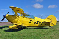 G-SKNT @ EGBG - 1973 Aerotek Inc PITTS S-2A, c/n: 2048 at Leicester