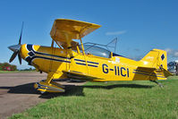G-IICI @ EGBG - 1998 Aviat Aircraft Inc PITTS S-2C, c/n: 6017 at Leicester