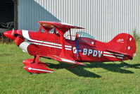 G-BPDV @ EGBG - 1970 Pitts Ch PITTS S-1S, c/n: 27P at Leicester
