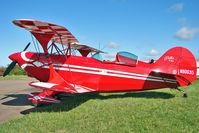 N80035 @ EGBG - 1974 Aerotek PITTS S-2A, c/n: 2070 at Leicester