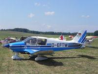 D-EFTW @ EBDT - Schaffen - Diest , Belgium. Oldtimer Fly In August 2010 - by Henk Geerlings