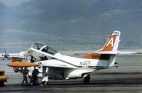 156698 @ ELP - T-2C Buckeye of Training Squadron VT-19 on transit through El Paso in October 1978. - by Peter Nicholson