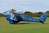 G-AGTM @ EGBK - 1944 Brush Coachworks Ltd DH89A RAPIDE 6, c/n: 6746 doing pleasure flights at 2010 Sywell Airshow