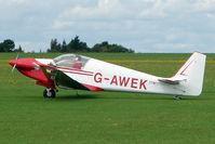 G-AWEK @ EGBK - 1968 Sportavia-putzer Gmbh FOURNIER RF4D, c/n: 4071 at 2010 Sywell Airshow