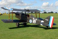 G-BUOD @ EGBK - 1995 Waldron Md REPLICA SE5A, c/n: PFA 020-10474 marked B595 at 2010 Sywell Airshow