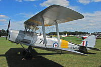 G-ANMO @ EGBK - 1935 De Havilland DH82A TIGER MOTH, c/n: 3255 doing pleasure flights at 2010 Sywell Airshow - carries marks K4259