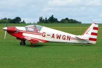 G-AWGN @ EGBK - 1968 Sportavia-putzer Gmbh FOURNIER RF4D, c/n: 4084 displayed at 2010 Sywell Airshow