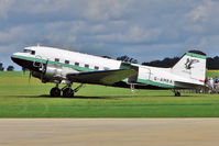 G-AMRA @ EGBK - 1944 Douglas Aircraft Company Inc DOUGLAS DC-3C-R-1830-90C, c/n: 15290/26735 at 2010 Sywell Air Show