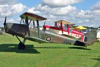 G-BLUZ @ EGBK - 1944 De Havilland DH82B QUEEN BEE, c/n: 1435 at 2010 Sywell Air Show