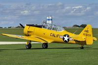 G-DDMV @ EGBK - 1952 North American Aviation Inc T-6G, c/n: 168-313 wears Serial 4932090 at 2010 Sywell Airshow