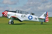 G-ELMH @ EGBK - 1942 North American Aviation Inc AT-6D HARVARD III, c/n: 88-16336 at 2010 Sywell Show