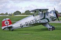 G-BUTX @ EGBK - 1940 Bucker Gmbh BUCKER BU133C, c/n: ES.1-4 at 2010 Sywell Airshow