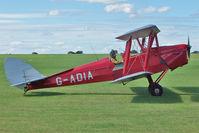 G-ADIA @ EGBK - 1935 De Havilland DH82A TIGER MOTH, c/n: 3368 at 2010 Sywell Airshow