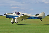 G-AEEG @ EGBK - 1936 Phillips And Powis Aircraft Ltd MILES M3A FALCON, c/n: 216 displaying at 2010 Sywell Airshow