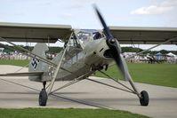G-STCH @ EGBK - 1942 Fiesler Werke Gmbh FIESLER F156A-1, c/n: 2088 at 2010 Sywell Airshow