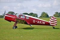 G-AKIN @ EGBK - 1947 Miles Aircraft (northern Ireland) Ltd MILES M38 MESSENGER 2A, c/n: 6728 at 2010 Sywell Airshow