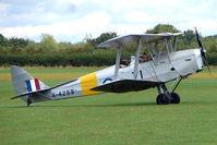 G-ANMO @ EGBK - 1935 De Havilland DH82A TIGER MOTH, c/n: 3255 at 2010 Sywell Airshow