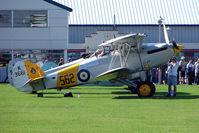 G-BURZ @ EGBK - 1934 Hawker Aircraft Ltd HAWKER NIMROD MKII, c/n: 41H-59890 at 2010 Sywell Airshow