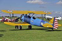 N4712V @ EGBK - 1949 Boeing E75, c/n: 75-5094 at 2010 Sywell Airshow