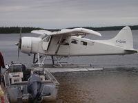 C-GADE - Kississing Air Reindeer Lake - by John Foster