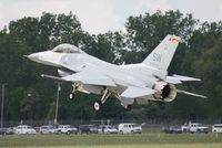 91-0387 @ YIP - F-16C - by Florida Metal