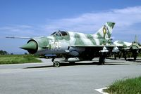 399 @ LBPG - One of the great many MiG-21s at Graf Ignatievo that will never fly again. - by Joop de Groot