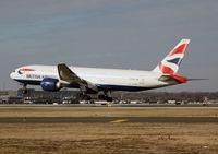 G-ZZZC @ KPHL - British Airways Speedbird 67 on final for 27R at PHL. - by T.P. McManus